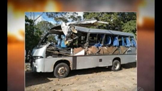 Vítimas de acidente na BR-316 são liberadas após atendimento, no Pará