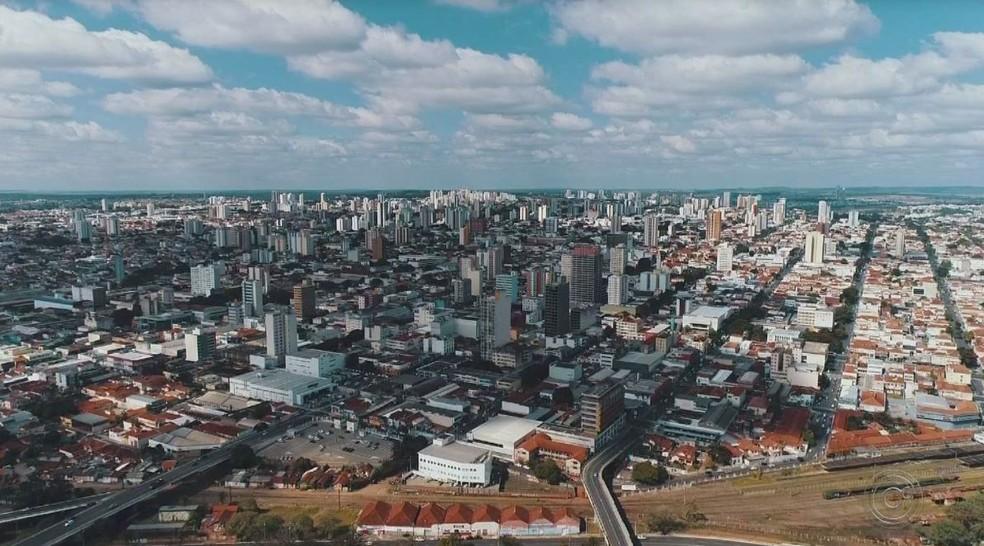 Bauru registrou média de aumento populacional menor que a do ano passado — Foto: TV TEM/Reprodução