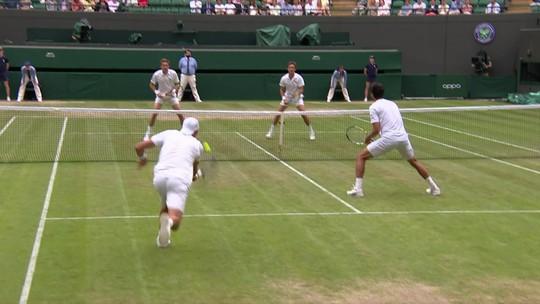 Franceses eliminam Melo e Kubot nas quartas de final de Wimbledon