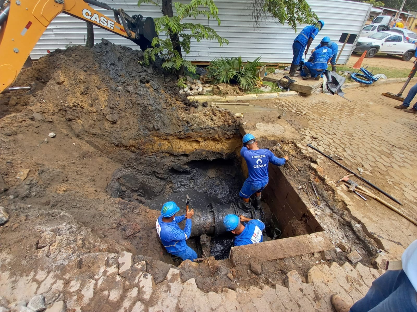 Abastecimento de água é retomado em Vila Velha, ES, diz Cesan