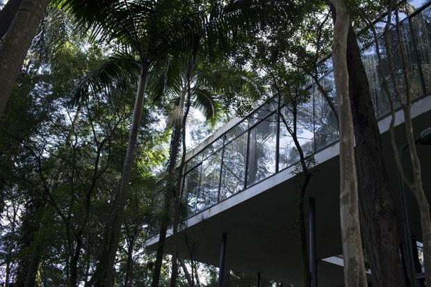 Casa de Vidro (Foto: divulgação)