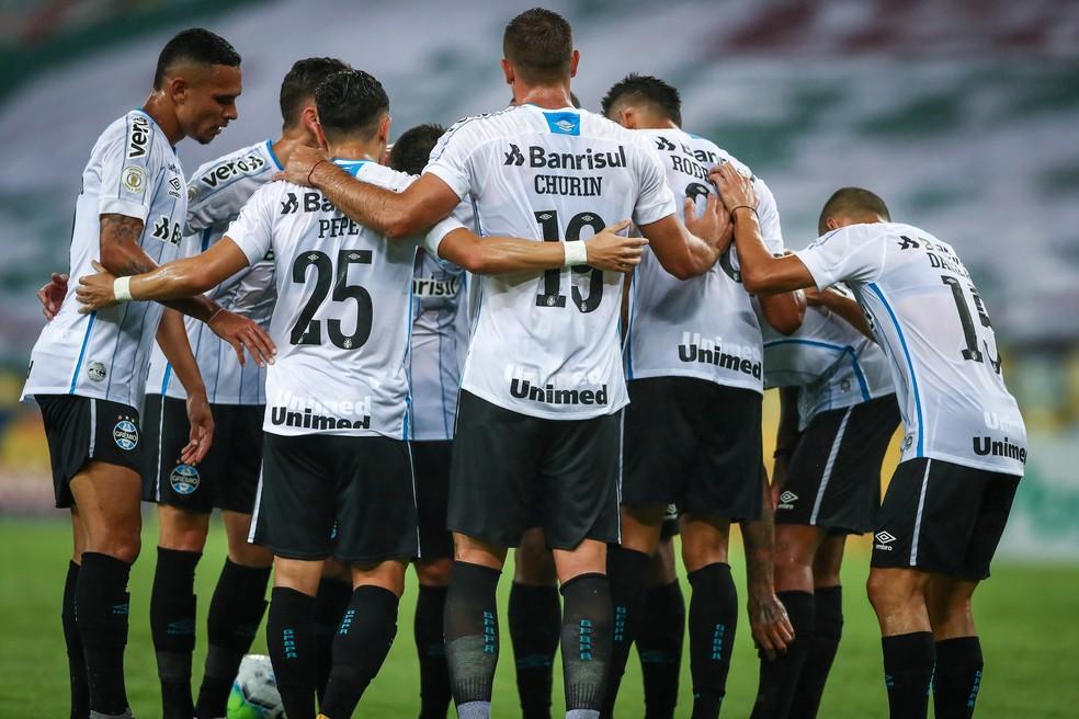 Grêmio pode chegar a sexta vitória seguida — Foto: Lucas Uebel/Grêmio
