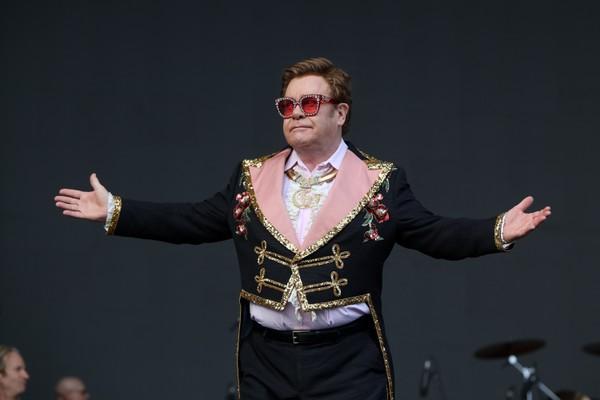 O cantor Elton John (Foto: getty images)
