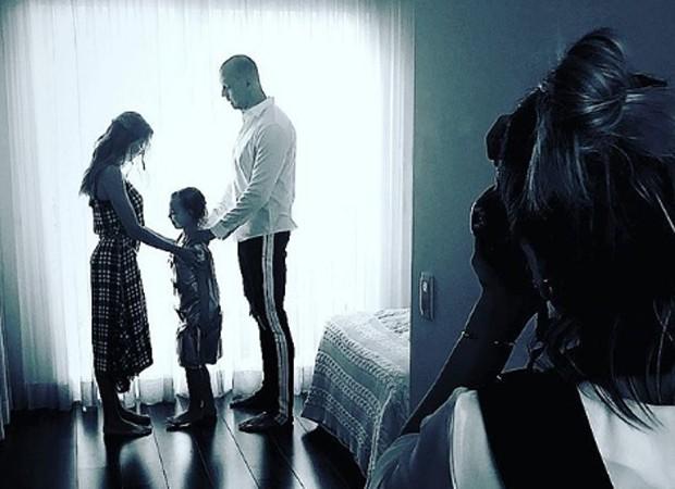 Isabella, Brenda e Fernando Scherer (Foto: Reprodução/Instagram)