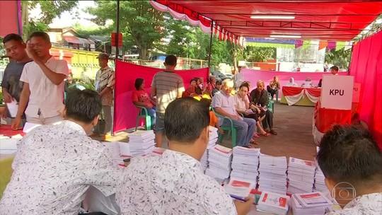 Contagem manual de milhões de votos deixa 272 pessoas mortas e outras 1.878 doentes na Indonésia