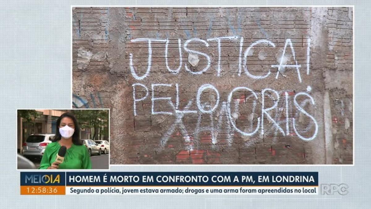Jovem é morto em confronto com a PM em Londrina; familiares e amigos realizam protestos pedindo rigor nas investigações