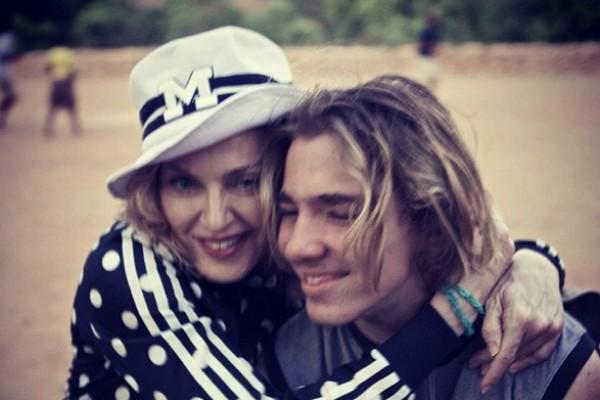 Madonna e Rocco (Foto: Reprodução Instagram)