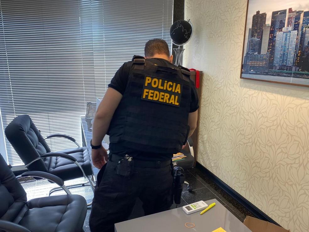PF fez operação para cumprir mandados  — Foto: Divulgação