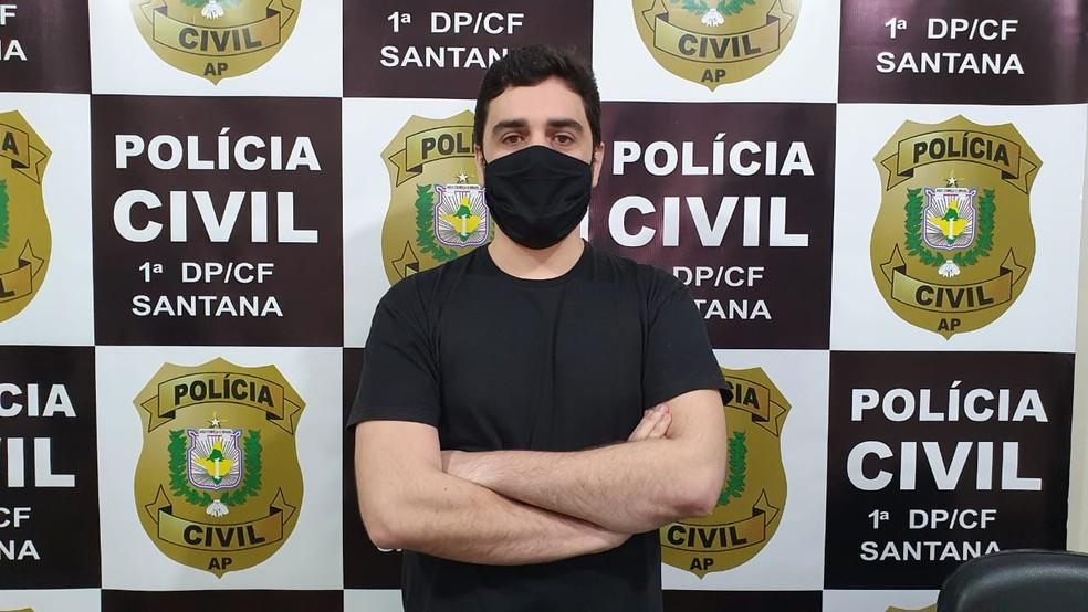 Delegado Yuri Agra investiga o caso como feminicídio — Foto: Polícia Civil/Divulgação