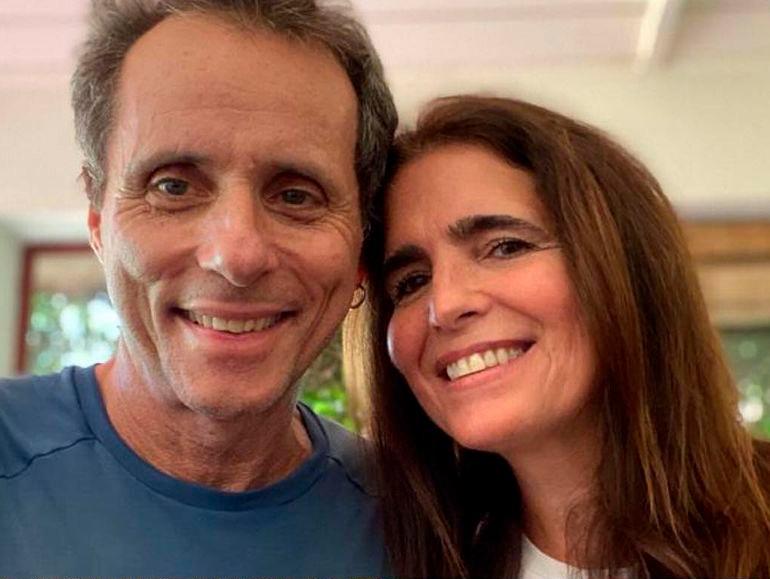 Tony Bellotto e a mulher, Malu Mader (Foto: Reprodução/Instagram)