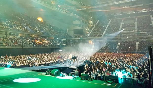 Show da Anitta em Madri, na Espanha (Foto: Divulgação)