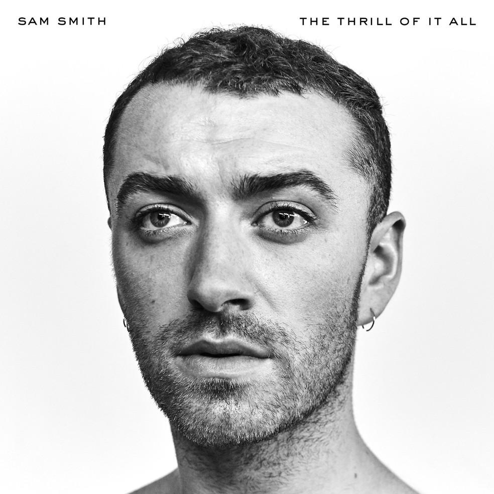 Capa de 'The Thrill of It All' de Sam Smith (Foto: Divulgação)