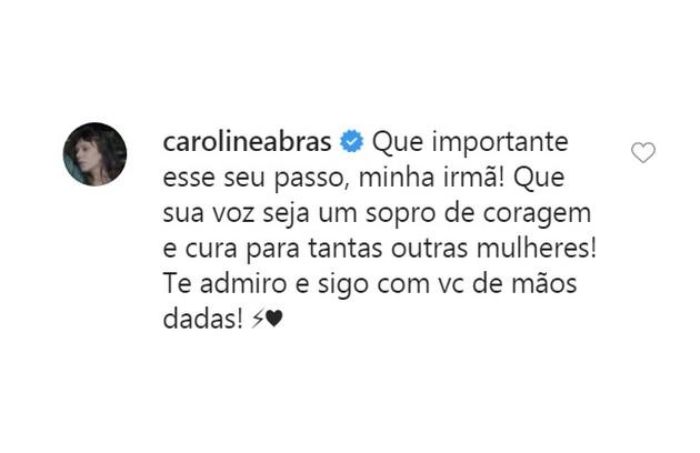 Caroline Abras (Foto: Reprodução)