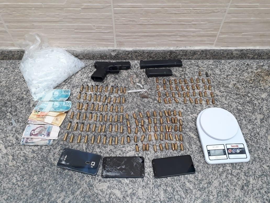 Chefe do tráfico de drogas é preso no bairro Jardim Normandia, em Volta Redonda  - Notícias - Plantão Diário