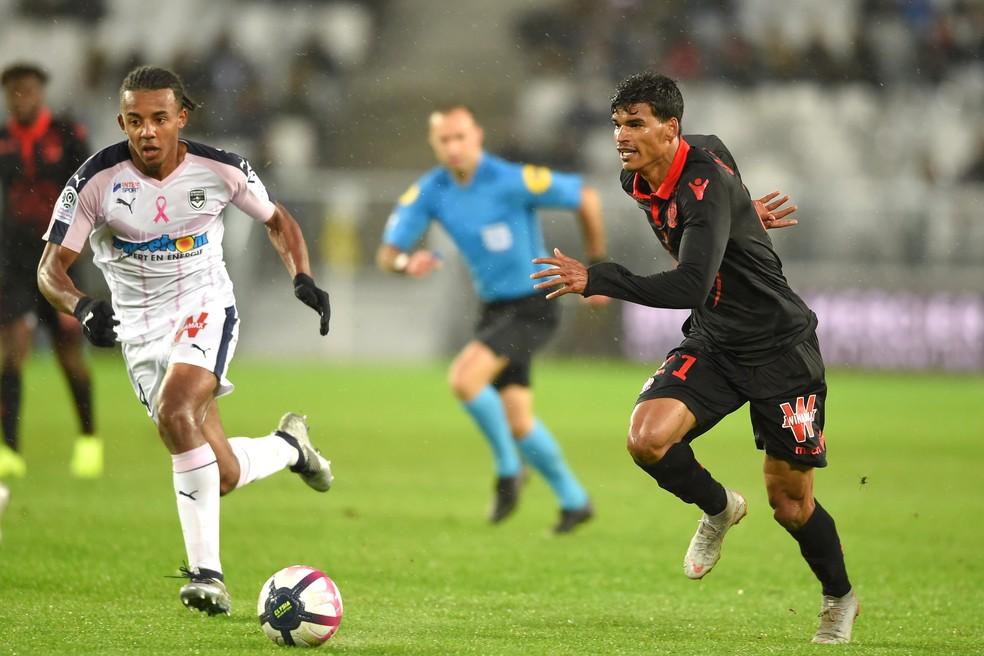 Danilo Barbosa tem ficado no banco nos últimos jogos do Nice — Foto: AFP