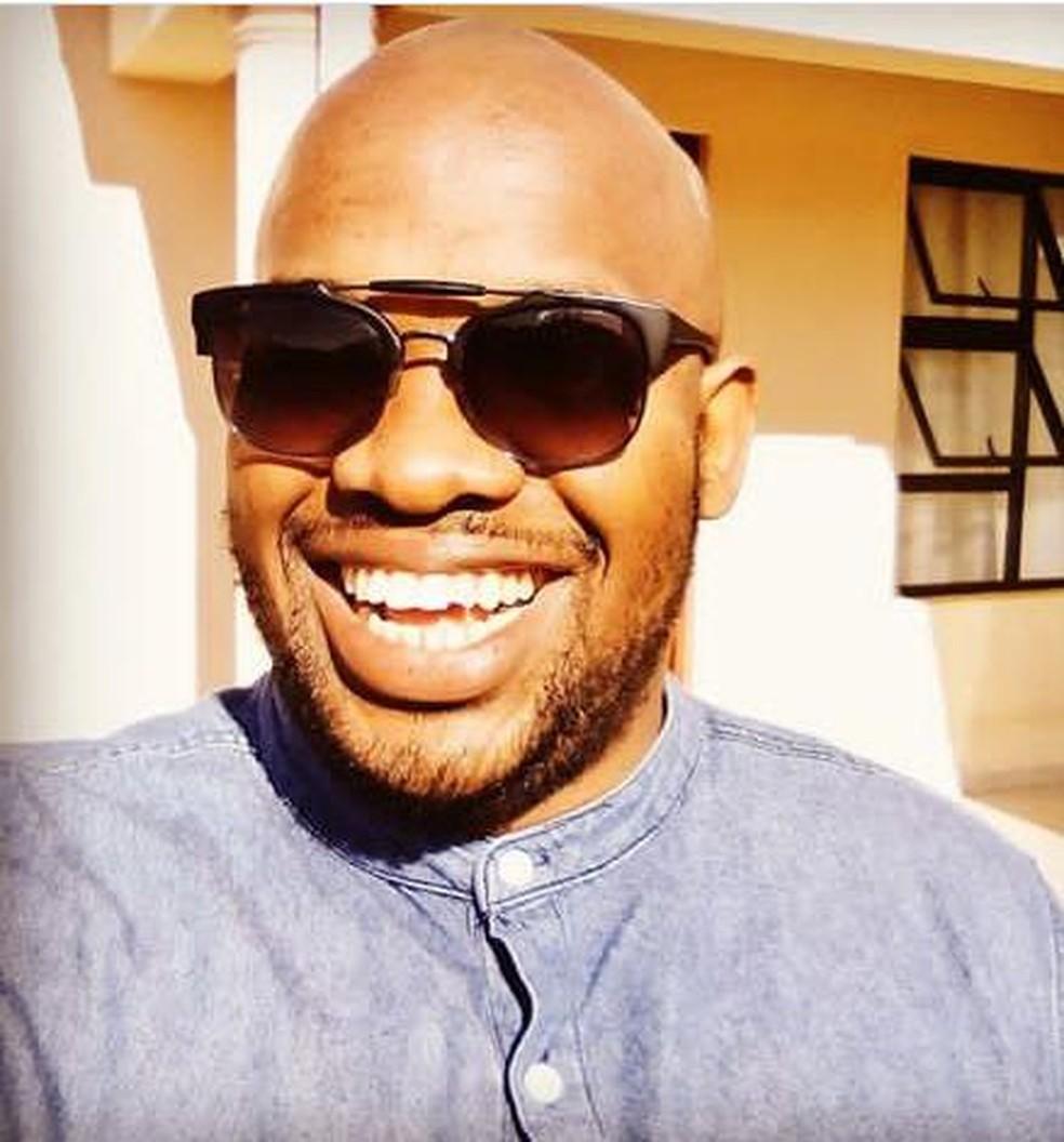 Laone van Vuuren é formado em relações públicas e administra um serviço de bufê em Gaborone, Botsuana — Foto: Arquivo pessoal