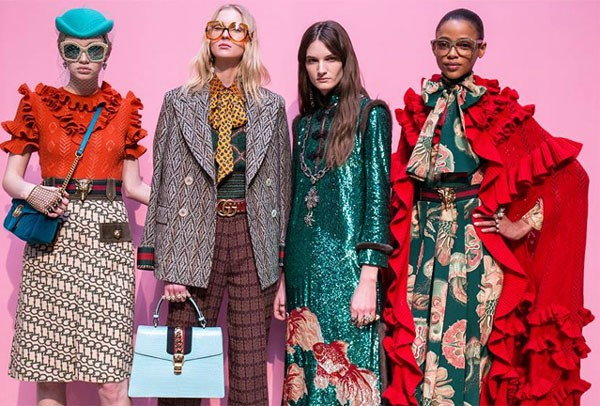 Backstage Gucci - Inverno 2016 (Foto: Getty Images)