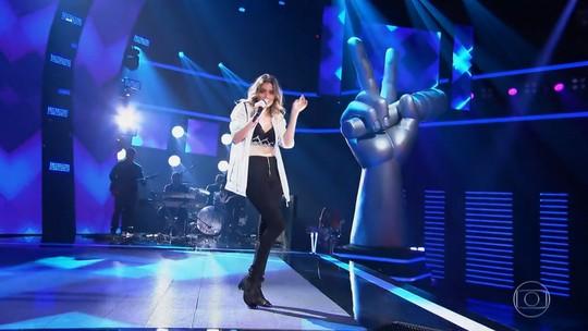 Confira a estreia de Maraia Takai no 'The Voice Brasil'