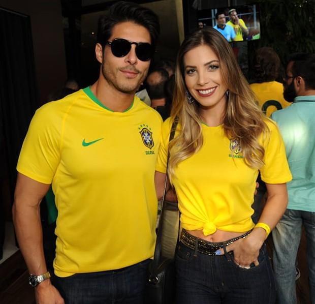Bruno Santos e Mariana Bergo (Foto: Rodrigo Lopes)