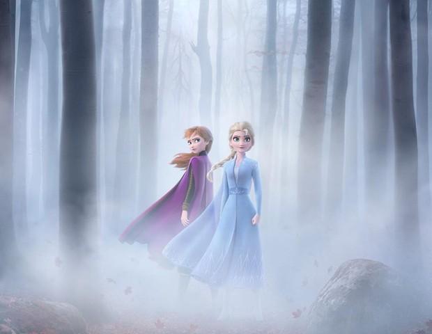 Frozen 2: disney liberou o trailer do filme (Foto: Reprodução Instagram)