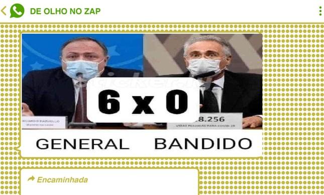 Renan Calheiros foi um dos principais alvos das redes bolsonaristas durante o depoimento de Eduardo Pazuello