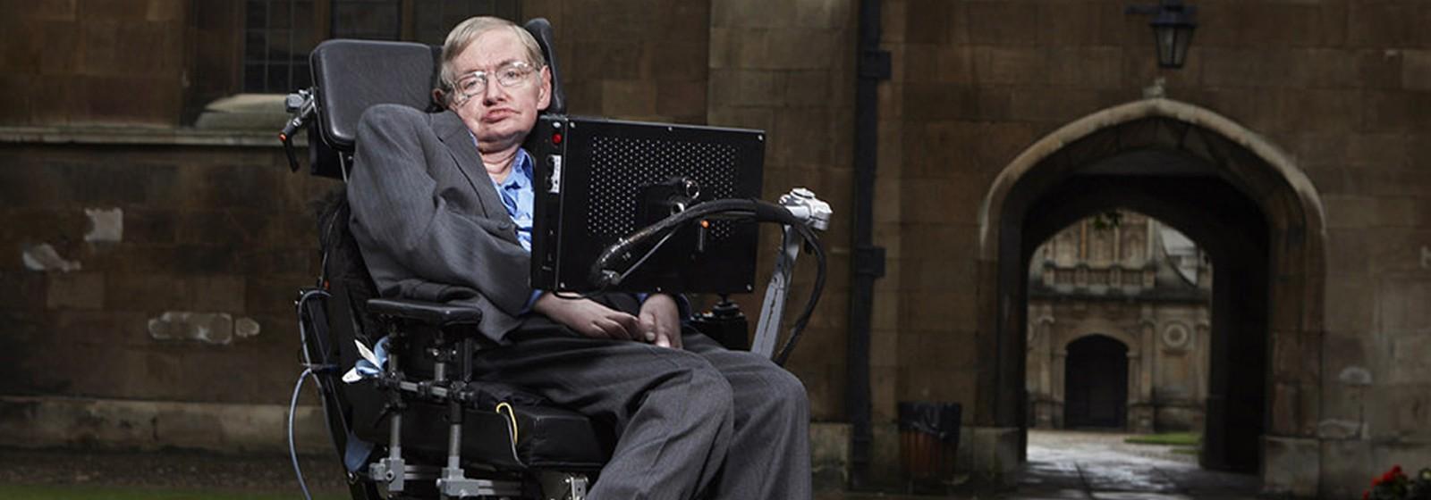 Dara O'brian entrevista Stephen Hawking