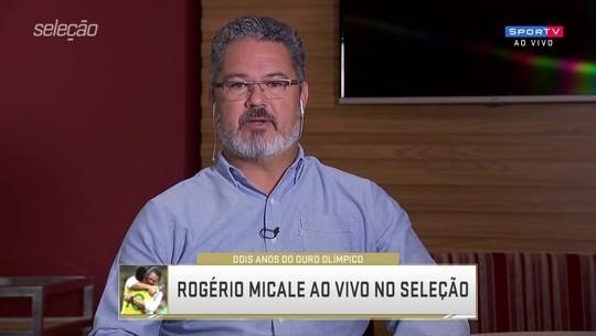 """Ouro olímpico do futebol brasileiro completa dois anos, e Micale lembra: """"A pressão era enorme"""""""