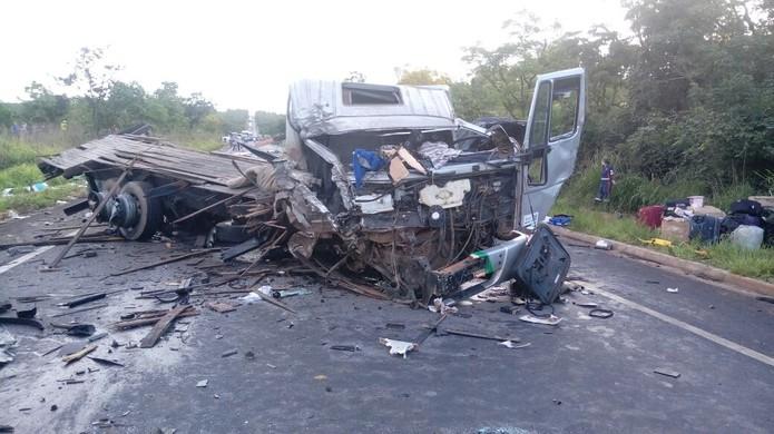 Sete veículos se envolveram no acidente
