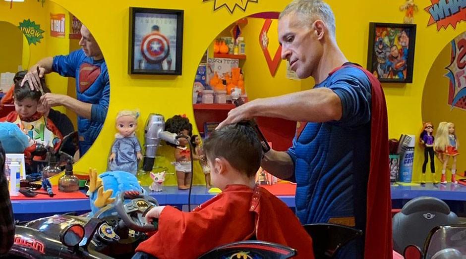Kids Barber (Foto: Divulgação)