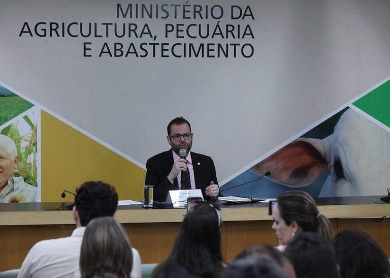 Jorge Seif Júnior, secretário de Aquicultura do Mapa (Foto: Divulgação/MAPA)