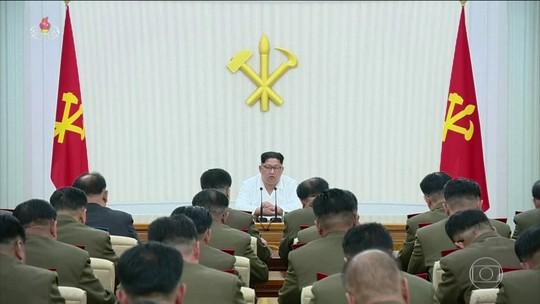 Trump diz que encontro com Kim Jong-un pode atrasar ou não acontecer