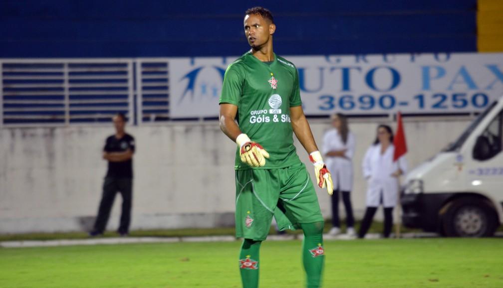 Bruno atuou em 5 partidas pelo Boa Esporte em 2017 — Foto: Régis Melo