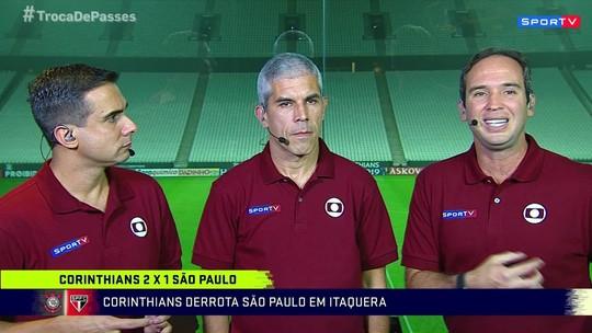 """Após derrota do São Paulo no clássico, Caio defende Hernanes: """"Não se omite"""""""