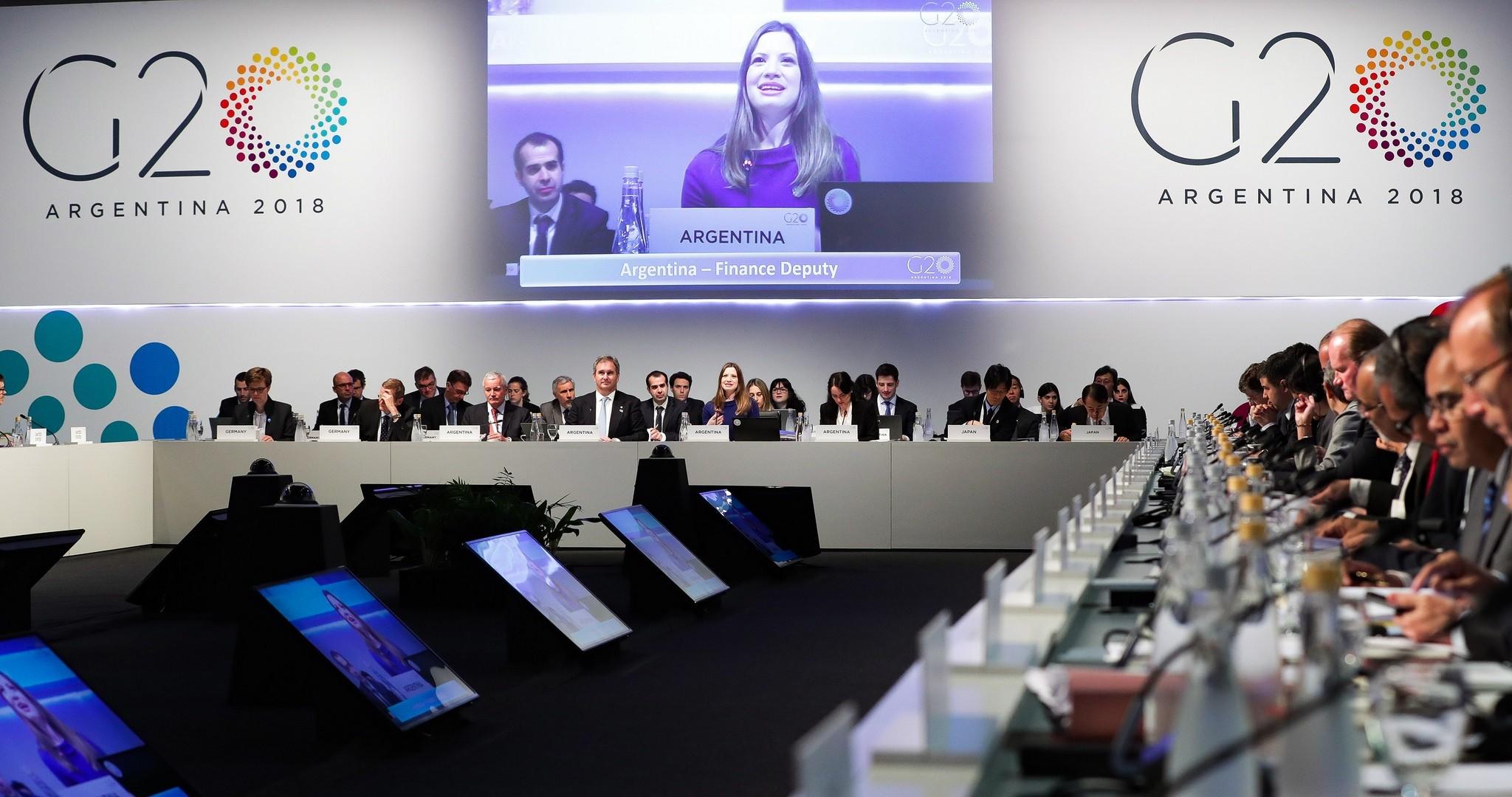 Reunião do G20, na Argentina (Foto: Flickr/Divulgação)
