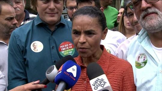 Marina promete ampliar acesso a creches e critica partidos rivais