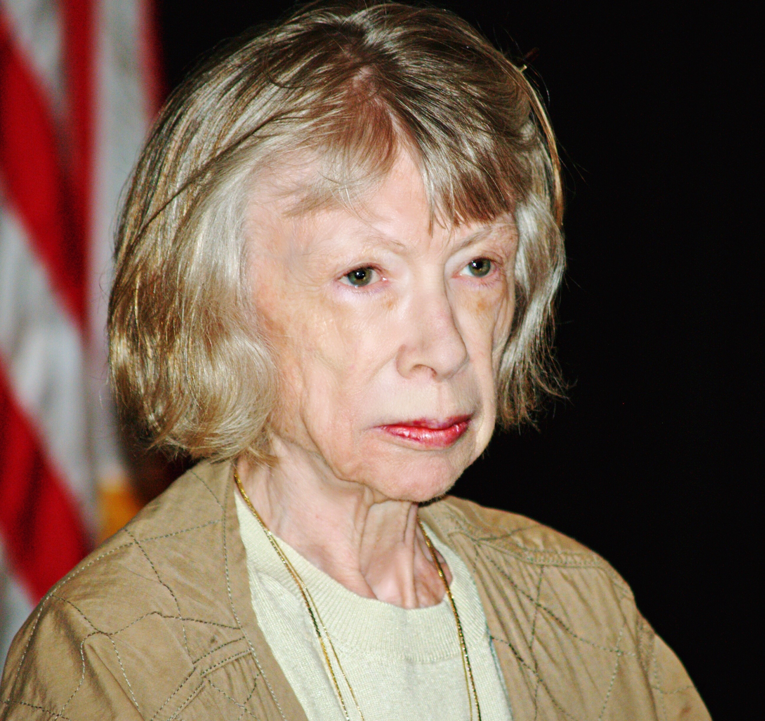 Joan Didion At The Brooklyn Book Festival