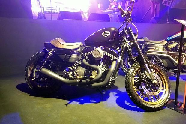 Harley-Davidson Goldster 1200 (Roadster) (Foto: Alexandre Izo)