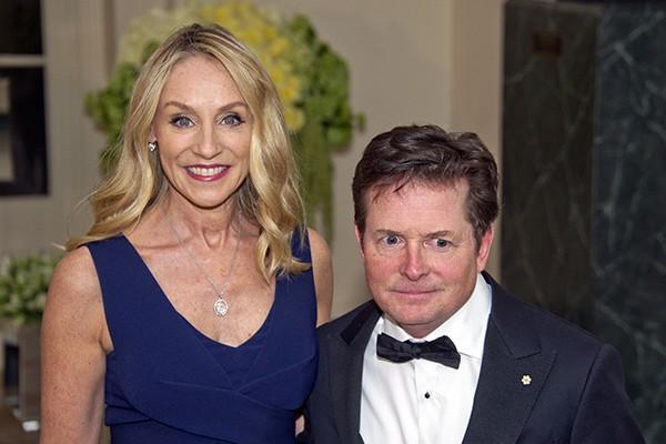 Michael J. Fox e Tracy Pollan (Foto: Getty Images)