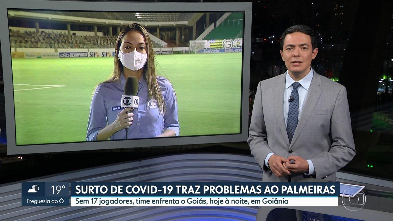 Em meio a um surto de Covid-19, Palmeiras arma time para duelo