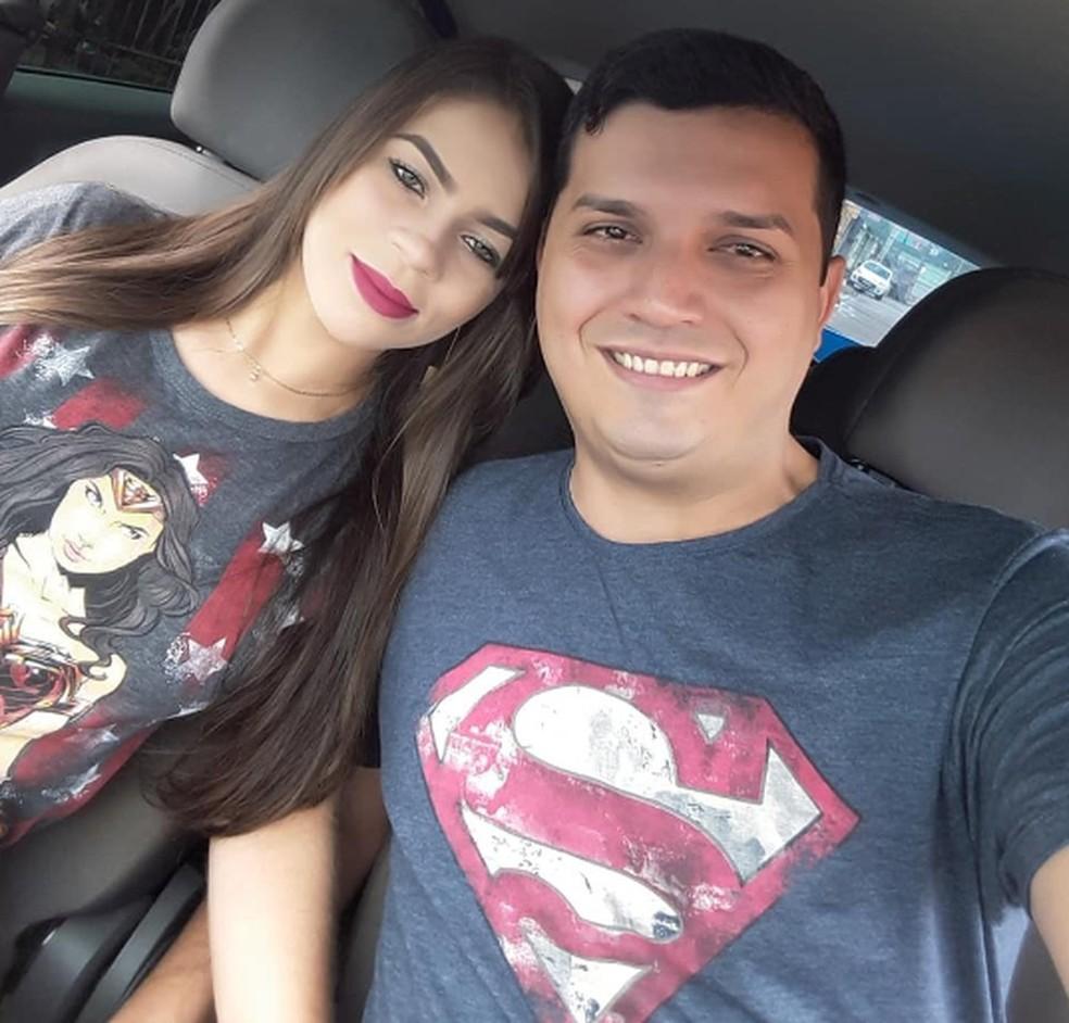 Adriana foi morta pelo marido; a irmã conta que ele o tinha como 'super-herói' — Foto: Arquivo pessoal
