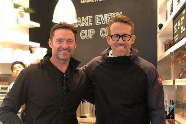 Hugh Jackman, Ryan Reynolds (Foto: Instagram)