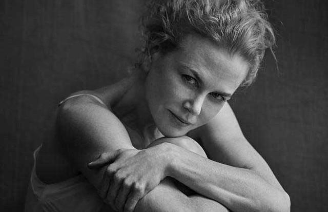 Nicole Kidman no Calendário Pirelli 2017 (Foto: Divulgação/ Peter Lindberg)
