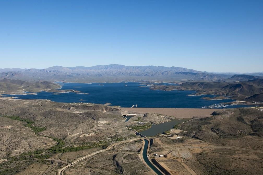 Cidades à margem de água com populações crescentes poderiam se beneficiar do sistema -- como as cidades ao retor do rio Colorado, nos Estados Unidos   (Foto: Central Arizona Project)