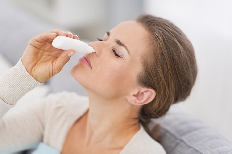 Resultado de imagem para Efeitos do uso exagerado de descongestionantes nasais