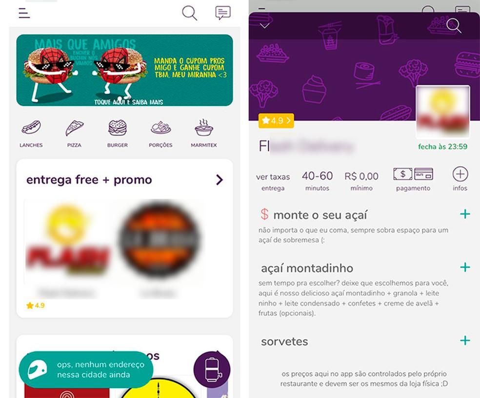 O app é simples e o usuário aprende a usar rapidamente — Foto: Reprodução/Luana Antunes