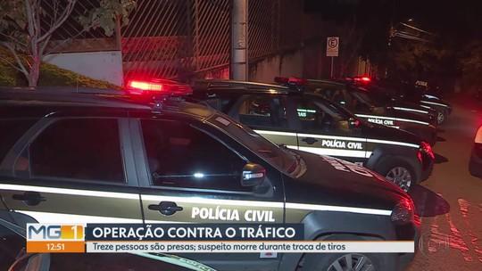 Polícia Civil faz operação contra tráfico, roubos e homicídios em BH e na Grande BH