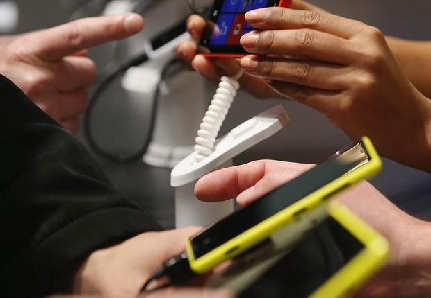 Smartphone Mobilidade Celulares Telefonia (Foto: Getty Images)