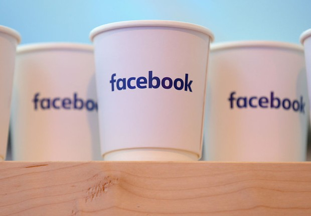Logo do Facebook (Foto: Sean Gallup/Getty Images)