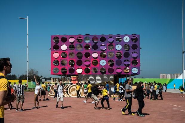 O Pavilhão Dançante, projeto do arquiteto e designer Guto Requena desenvolvido para as Olimpíadas Rio 2016, foi premiado na categoria máxima de arquitetura do IF Design Award (Foto: Divulgação)