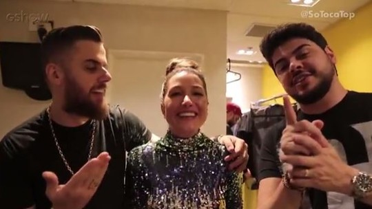 Gabriela Pugliesi descobre o que Zé Neto e Cristiano comem antes dos shows e revela histórias inusitadas dos cantores